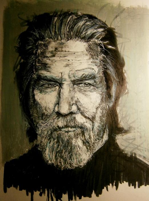 Jeff Bridges by IgnacioR